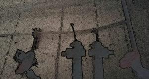 Rohrenden, im Cartoon-Modus aufgenommen